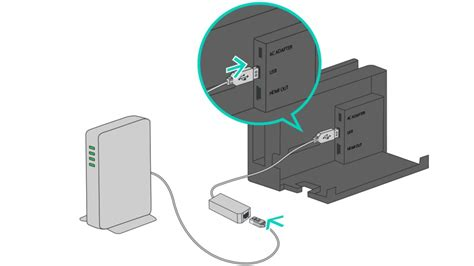 Switch Kabel Lan verbinding maken via een kabel nintendo switch service en info nintendo