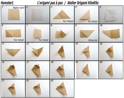 How To Make An Origami Hamster - ballon du hamster par a kitokito l origami pas 224 pas