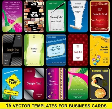 card template corel corel draw business card template free vector