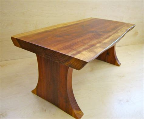 coffee table redwood coffee table curly redwood coffee
