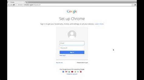 chrome sign in google chrome sign in to chrome youtube