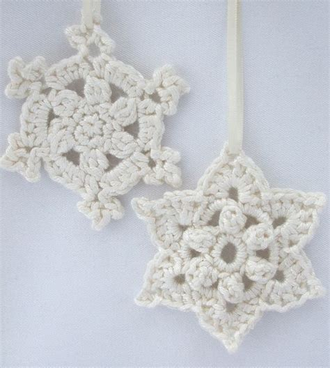 snowflake pattern for crochet crochet snowflake patterns christmas ornaments appliques