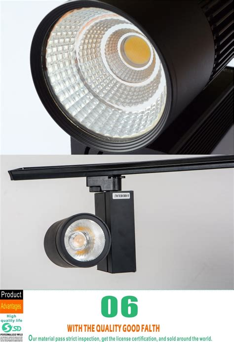 dimmable led shop lights 20w 30w barn door dimmable led track light high lumen cob
