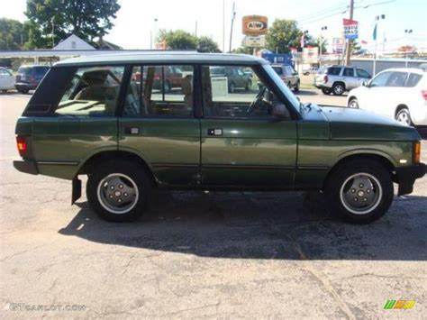 dark green range rover 1993 dark green metallic land rover range rover county