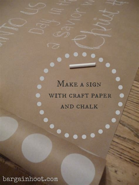 Chalkboard Craft Paper - chalk sign craft paper and chalk
