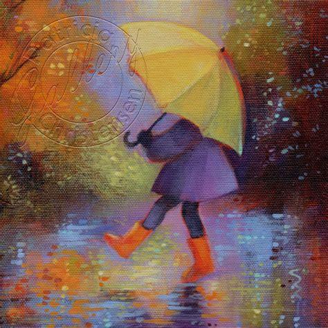 umbrella painting on 84 pins