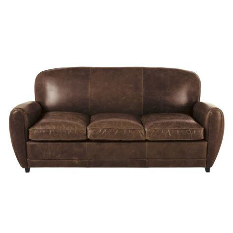divano letto in pelle divano letto vintage 3 posti marrone in pelle oxford
