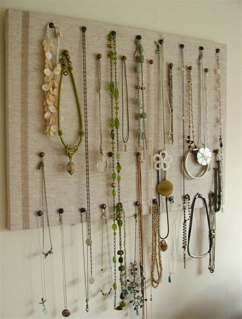 how to make a jewelry display board diy how to make an easy jewelry organizer and