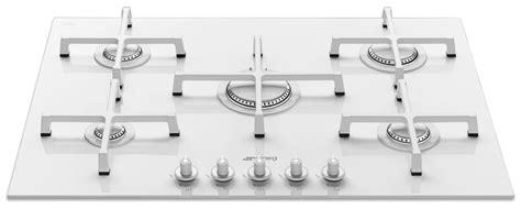 piano di cottura in vetroceramica a gas smeg pv175cb piani cottura a gas