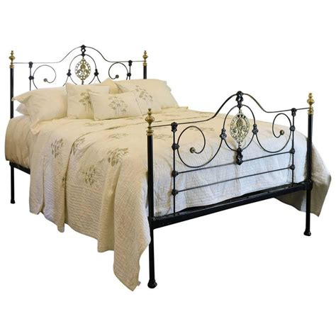 cast iron bedroom sets cast iron bed in black mk105 for sale at 1stdibs