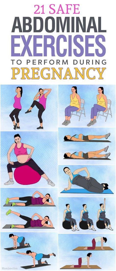 safe abdominal ab exercises  perform  pregnancy