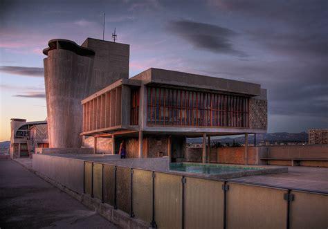 le corbusier unite d habitation and the liner