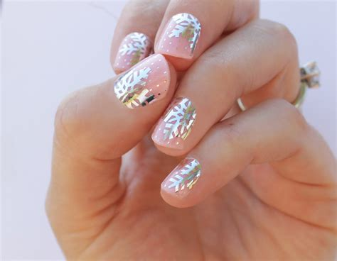 Nail Wraps by Snowflake Transparent Nail Wraps