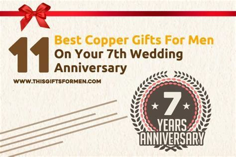 11 Best Copper Gifts For Men On Your 7th Wedding