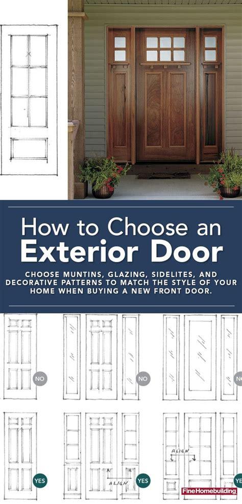 choose   exterior door   exterior