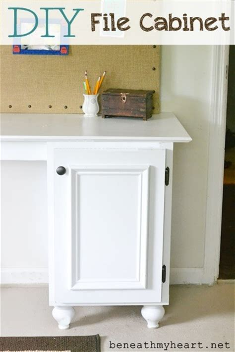 DIY File Cabinet for my Office   Beneath My Heart