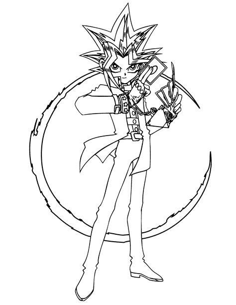 print coloring pages yugioh coloring page yu gi oh coloring pages 84