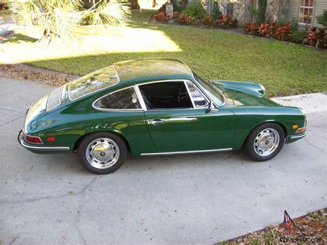 irish green porsche irish green 1968 short wheel base long nose porsche 911