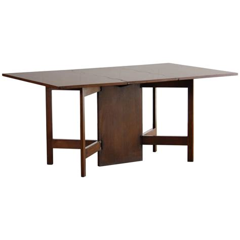 george nelson drop leaf dining table or desk for sale at