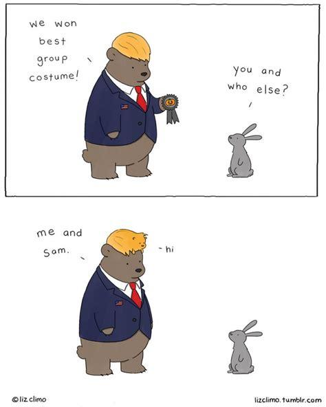 funny animal halloween comics  liz climo