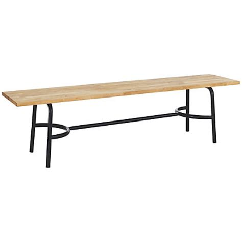 homebase bench habitat yeoman wooden bench