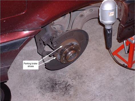 bmw parking l replacement bmw parking brake shoe replacement