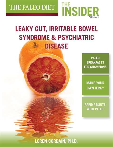 Ibs Orange Stool by Leaky Gut Ibs And Psychiatric Disease The Paleo Diet