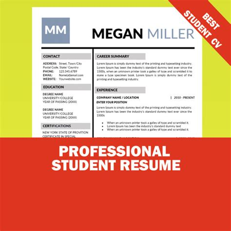 Best Internships For Mba Students by 17 Best Internship Resume Templates To For Free
