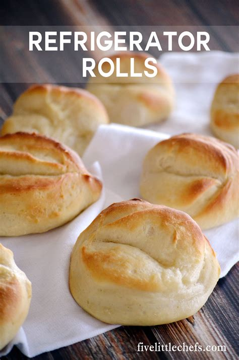 refrigerator rolls five little chefs