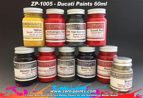 Green Hutch Ducati Paints 60ml Zp 1005 Zero Paints