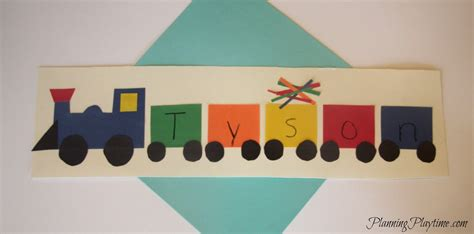 name crafts for 5 adorable preschool name crafts
