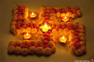 ideas for diwali decoration at home flowers swastik sign decoration ideas for diwali