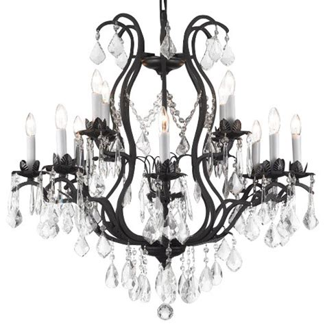 Chandelier Houzz Viola Wrought Iron Chandelier Traditional Chandeliers By Gallery