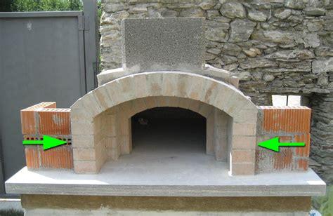 come si costruisce un tavolo in legno forno in mattoni refrattari a base rettangolare
