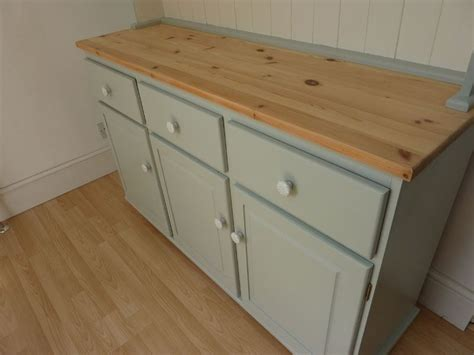 How To Paint A Pine Dresser by Large Farmhouse Painted Pine Dresser Painted Vintage