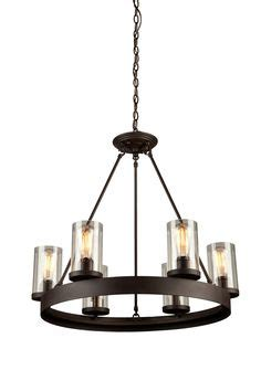 shop kichler menlo park 12 01 in olde bronze wrought iron kichler lighting barrington 5 light distressed black and