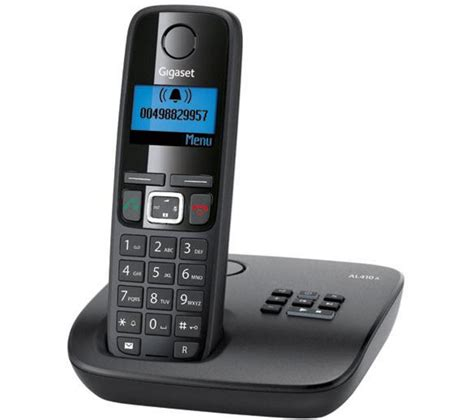 gigaset al410a cordless phone with answering machine