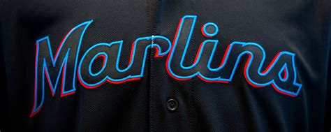 miami marlins colors brand new new logo for miami marlins
