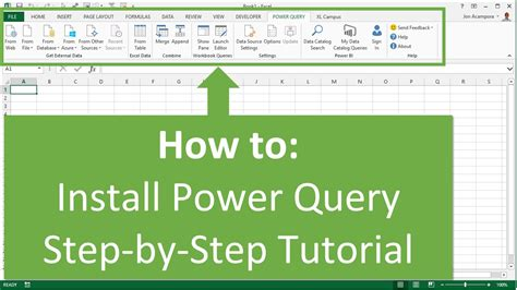 power query tutorial excel 2010 how to install microsoft query in excel 2007 microsoft