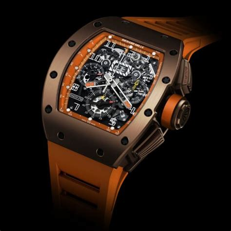 Ntpt Carbon Limited Edition Movement Custom Modified Swiss 7750 F 1 luxury swiss watches richard mille rm 011 rm 011 flyback chronograph orange tzp black