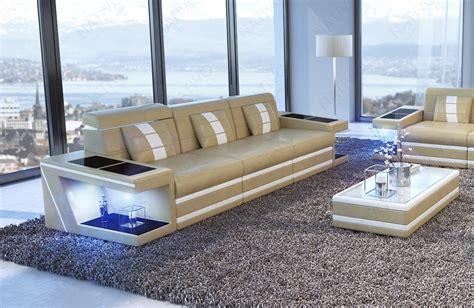 divano 3 posti tessuto divano in tessuto a 3 posti carezza con led nativo