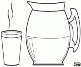 Hot Water Bottle Coloring Pages sketch template