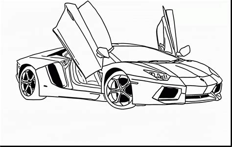 lamborghini sketch 20 best free lamborghini outline home of coloring