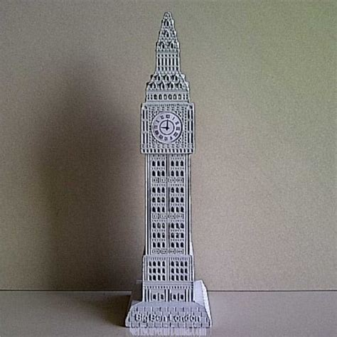 Souvenir Gantungan Kunci Bentuk Big Ben 1 jual souvenir miniatur jam big ben putih