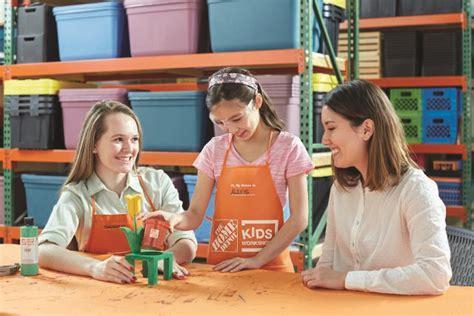 home depot kids workshops free weekly workshops home fun free workshops for kids at home depot momswhosave com