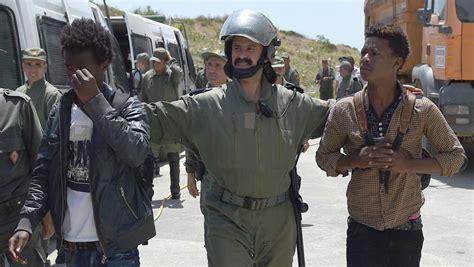 Anger In Spain At Migrant Models by Maroc Arrestations Massives De Migrants Subsahariens 224