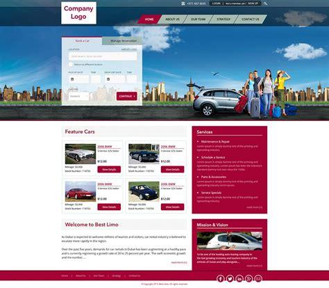 Car Rental Website Template Ved Web Services Car Rental Website Template