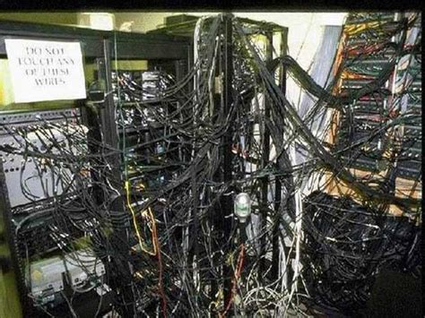 messy wires data center management 101 part i cable management dcig