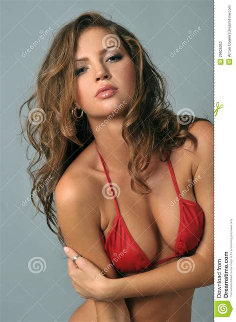 Free Standing Patio Plans Young Latin Woman In Posing Stock Photography