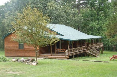 Oklahoma Cottages by Friendly Pines Cabins Broken Bow Oklahoma Cground